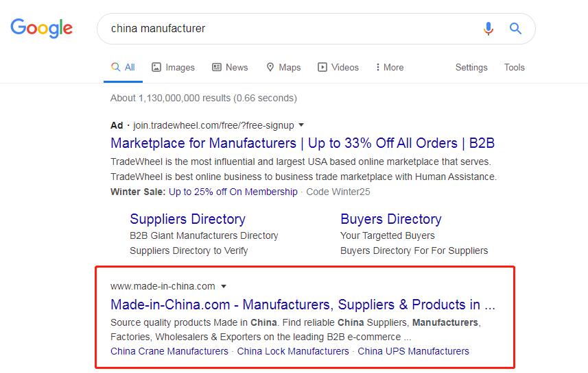外贸平台关于谷歌竞价